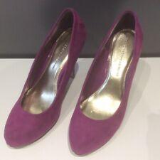 Dorothy Perkins Court Shoes UK Size 5 Cerise Pink