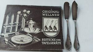 Wellner Patent 90 Butter- und Käsebesteck