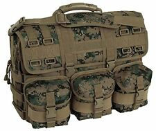 Marpat Woodland Camo MOLLE Tactical Laptop Field Briefcase Shoulder Bag