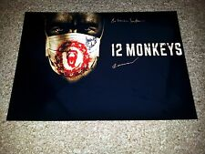 "12 MONKEYS PP CAST SIGNED 12""X8"" A4 PHOTO POSTER TWELVE BARBARA SUKOWA"
