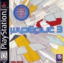 Wipeout 3 PS1 Great Condition Fast Shipping