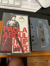 Paula Abdul Shut Up And Dance Mixes Cassette Tape