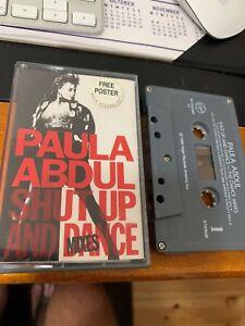Paula Abdul Shut Up And Dance Mixes Cassette Tape