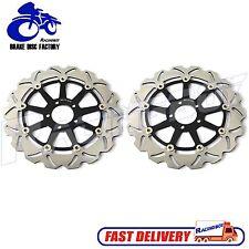 2x Front Brake Discs Rotors for Kawasaki ZZR 1100 D ZZR1200 02-05 VN 1500 1600