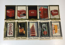Coca Cola 1996 $5 Phone Cards Set Of 10 Complete Scoreboard (7186-87)