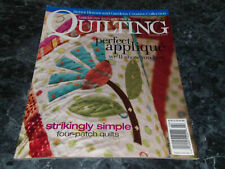 American Patchwork & Quilting Magazine February 2006 Issue 78 Welcome Cottage