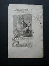 1584.Uomini Illustri.SENECA (Il Giovane).XILO.A.Thèvet.
