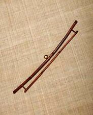 """BAMBOO HANGER FOR 15"""" QUILT TAPESTRY OBI DISPLAY WALL HANGING  FABRIC TEXTILE"""