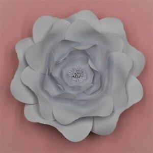 15/20/30/40cm Giant Paper Flower Wall Decor Home Diy Wedding Party Christening