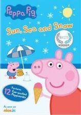 Peppa Pig Sun Sea and Snow - DVD Region 1