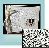 Wedding Embossing folders SCROLLWORKS CTFD3055 Cuttlebug Compatible CRAFTS TOO