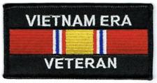 """VIETNAM ERA VETERAN"" Patch  Iron / Sew-on  4 x 2 inch patch"