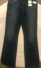 GAP 1969 Women's Perfect Boot Blue Jeans Size: 33T NWT