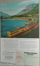 1956 Union Pacific ad, City of Portland observation car
