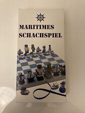 Maritimes Schachspiel neu OVP