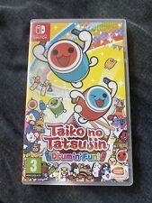Taiko no Tatsujin Tambor llenos de diversión! Nintendo Switch Juego UK PAL Edición Difícil De Encontrar