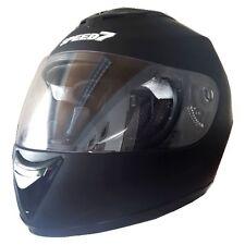 Speed7 Kart Motorrad Helm schwarz matt Gr. M Karthelm Scooter Rollerhelm