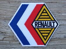 ECUSSON PATCH THERMOCOLLANT aufnaher toppa RENAULT gordini alpine automobile