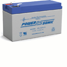 Power-Sonic 2 Pack - 12V 7AH SLA Battery Replaces gp1272 np7-12 bp7-12 npw36-12