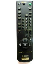 SONY VCR REMOTE CONTROL RMT-V207E for SLVE220UY some light fading