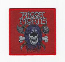 Rigor Mortis Patch holy terror-evildead-devastation-demolition hammer-whiplash