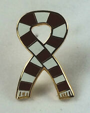 Newcastle Supporters Scarf Quality enamel lapel pin badge