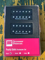 Seymour Duncan SH-PG1 Pearly Gates Humbucker PICKUP SET Black Les Paul NEW