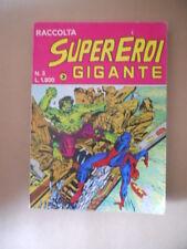 Raccolta SUPEREROI GIGANTE n°3 1984 Edizioni Corno [G486]