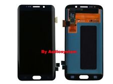 DISPLAY LCD+TOUCH SCREEN SAMSUNG GALAXY S6 EDGE SM-G925F BLU NERO VETRO SCHERMO