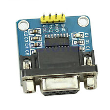MAX3232 RS232 Serial Port To TTL Converter Module DB9 Connector 5V, RS232 to TTL