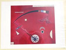 (PRL) 1990 WASILY KANDINSKY VINTAGE AFFICHE ORIGINAL ART PRINT ARTE ILLUSTRATION