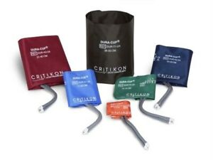 GE Critikon Dura-Cuf NIBP Blood Pressure Cuff 002699 2699 Assortment Box of 6