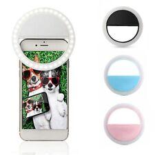 Anillo de luz LED Flash para selfie camara fotografia y moviles universal