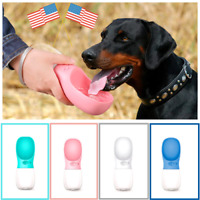 For Puppy Dog Cat Pet Watter Bottle Drinking Travel Outdoor Portable Feeder.