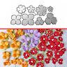 Flowers Metal Cutting Dies DIY Stencil Scrapbooking Paper Card Embossing Craft w