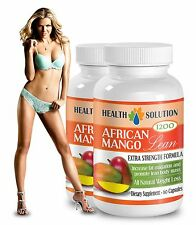 African Mango Cleanse Extract - Natural Weight Loss 2 Bottles 120 Capsules