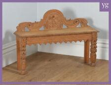 Oak Original Victorian Victorian Benches & Stools (1837-1901)