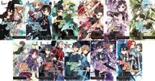 SWORD ART ONLINE Light Novels MANGA Series by Reki Kawahara Set of Books 1-11