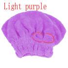 Microfiber Women Bath Quick Dry Hair Magic Drying Turban Wrap Towel Hat Cap
