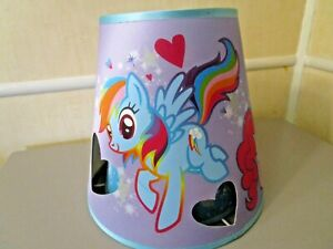 My Little Pony Fabric Children's Double Cut Out Hearts Lamp Shade FREE SHIPPING