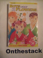 MANGA:    Boys over Flowers (Hana Yori Dango) Vol. 34 by Yoko Kamio (2009)