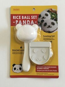 Panda Shape Rice Ball Maker Mold Nori Seaweed Punching Tool Punch Set Bento