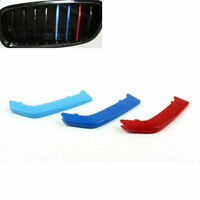 Front Kidney Grill Grill M Style Insignia 3 color Buckle Para BMW F30 2013-2015,