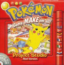 Pokemon Gotta Make Em All-Projekt Studio Red Ed-PC drucken (Disc in Hülle)