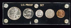 1942 U.S. 5 Coin Proof Set