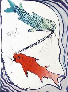 Salvador Dalí, Pisces, Lithograph Poster