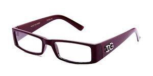 Readers Rectangular Frame Reading Glasses in Various Strengths