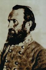 General Stonewall Jackson, Civil War, Confederate --- Continental Size Postcard
