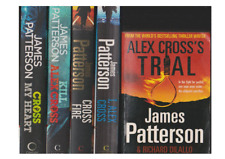 """5 AWESOME """"ALEX CROSS' NOVELS, BOOKS 15-18 IN SERIES by JAMES PATTERSON..."""