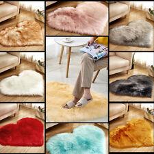 Soft Heart-shaped Carpet Rugs For Living Room Bedroom Study Anti-Slip Floor Mat